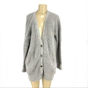 Free people wool blend sweater cardigan